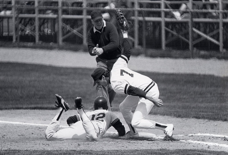 Rick Bernardo was an All-America first baseman for Maine, hitting 19 home runs while batting .428 with an .821 slugging percentage as a senior in 1986.