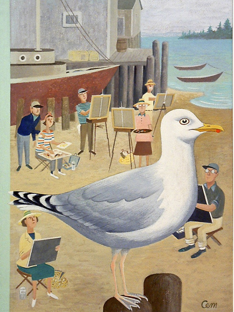 """""""Seagull"""" by Charles Martin"""