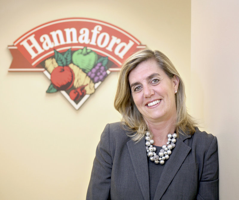 Hannaford President Beth Newlands Campbell started with the company's training program.