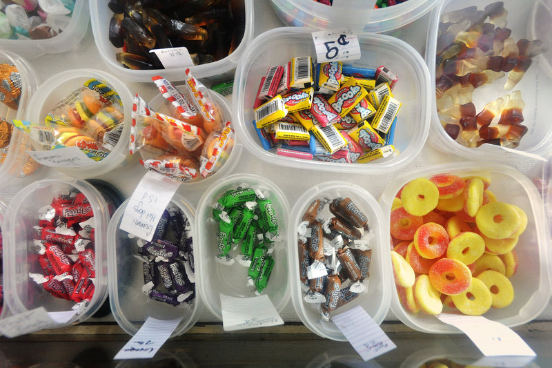 The Way Way Store features candy – lots of it.