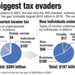 Individuals are the biggest income tax evaders