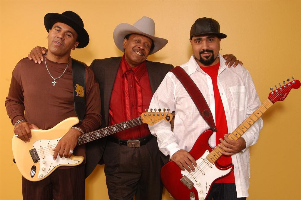 The Brooks Family Blues Dynasty performs at 5:35 p.m. Saturday.