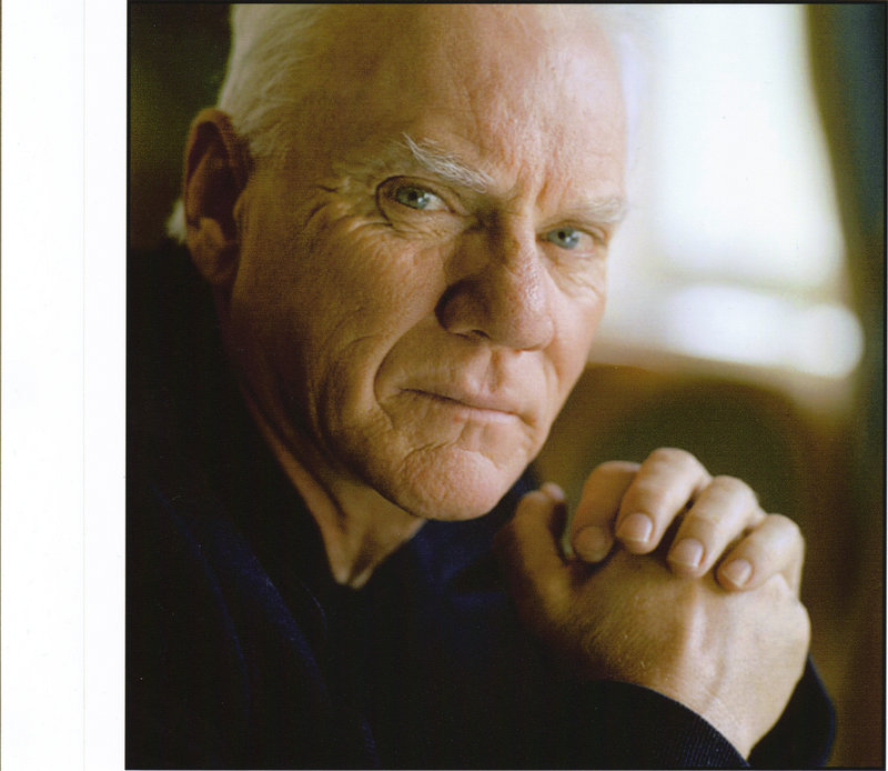 Malcolm McDowell will receive the Mid-Life Achievement Award on Saturday at the Maine International Film Festival.