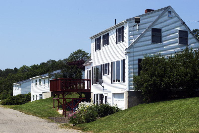 A deal selling these three houses on 5.2 acres in Thomaston to State Prison Warden Patricia Barnhart was voided by Maine's Attorney General when it came to light the sale violated a conflict-of-interest law.