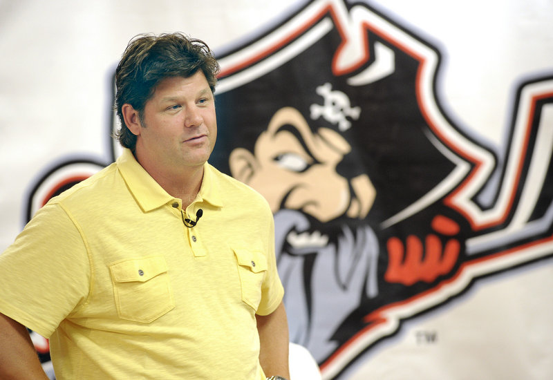 Ray Edwards has gone through pro hockey's hinterlands, and now is in a traditional market as the Pirates' coach.