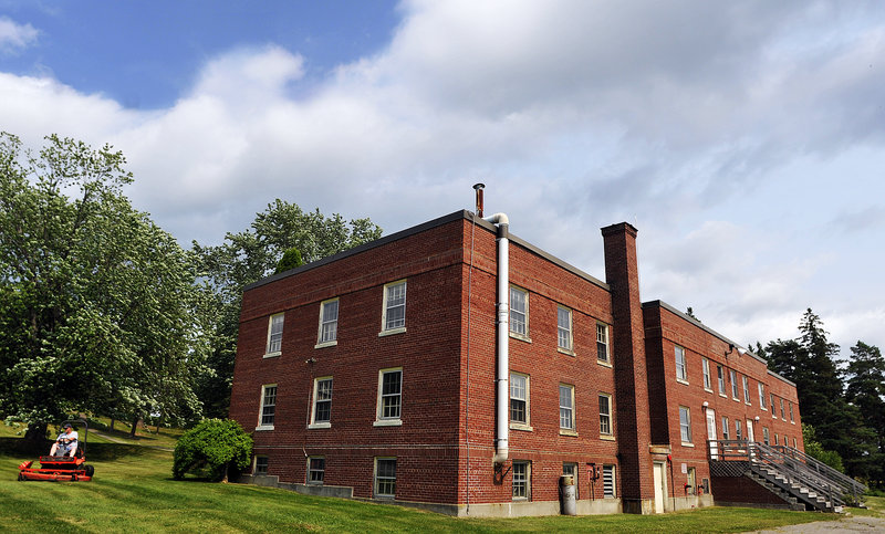 BANGOR: Hedin Hall, a three-story brick building on the grounds of the Dorothea Dix Psychiatric Center.