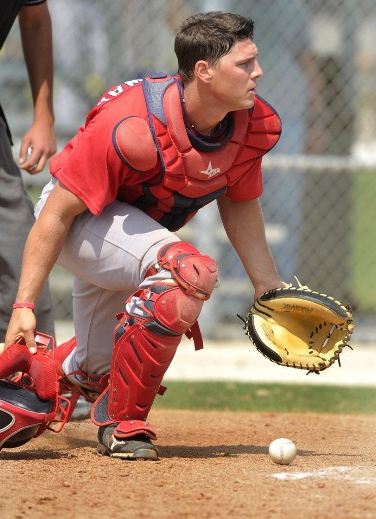 Ryan Lavarnway hasn't stopped hitting since his promotion from the Sea Dogs to Triple-A Pawtucket, and a call-up to the Red Sox could be in his near future.