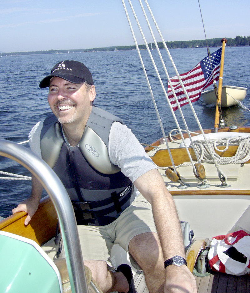 "Kevin Cohen, author of ""Parts North"" and son of William S. Cohen, is vacationing in Castine."