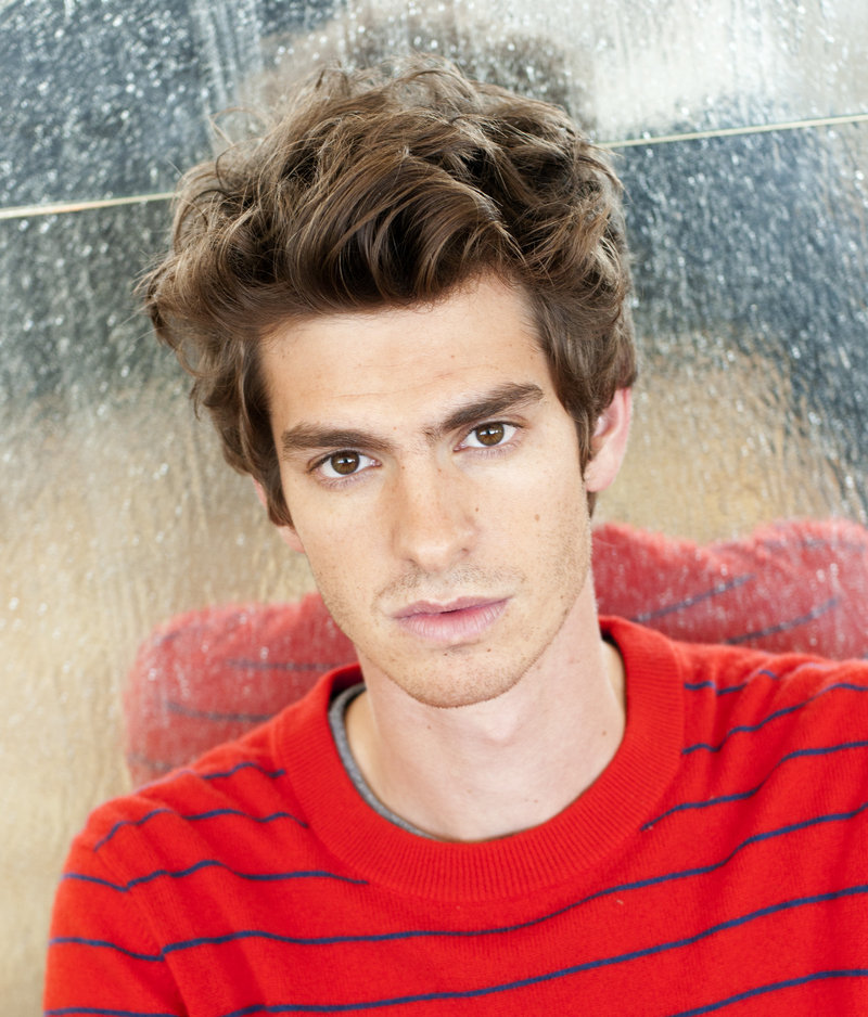 Andrew Garfield plays Spider-Man