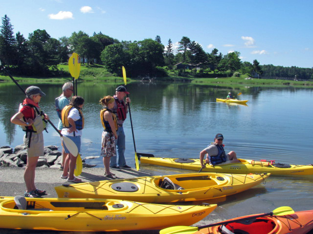 Want to get adventurous this summer? Spend Aug. 10 on Biscay Pond learning entry-level kayaking techniques. MidCoast Kayak will supply all the gear. Registration deadline is Aug. 9. Kayaking is a great low-impact activity for older exercisers that is easier on the joints then running or aerobics. So stay active, get a great workout and learn how to participate in a sport that you can enjoy for years while enjoying Maine's spectacular scenery. The two-hour class begins at 9 a.m. at the Biscay Pond Public Beach, Biscay Road in Damariscotta. Participant fee is $20. Call 563-1363 to reserve a spot.