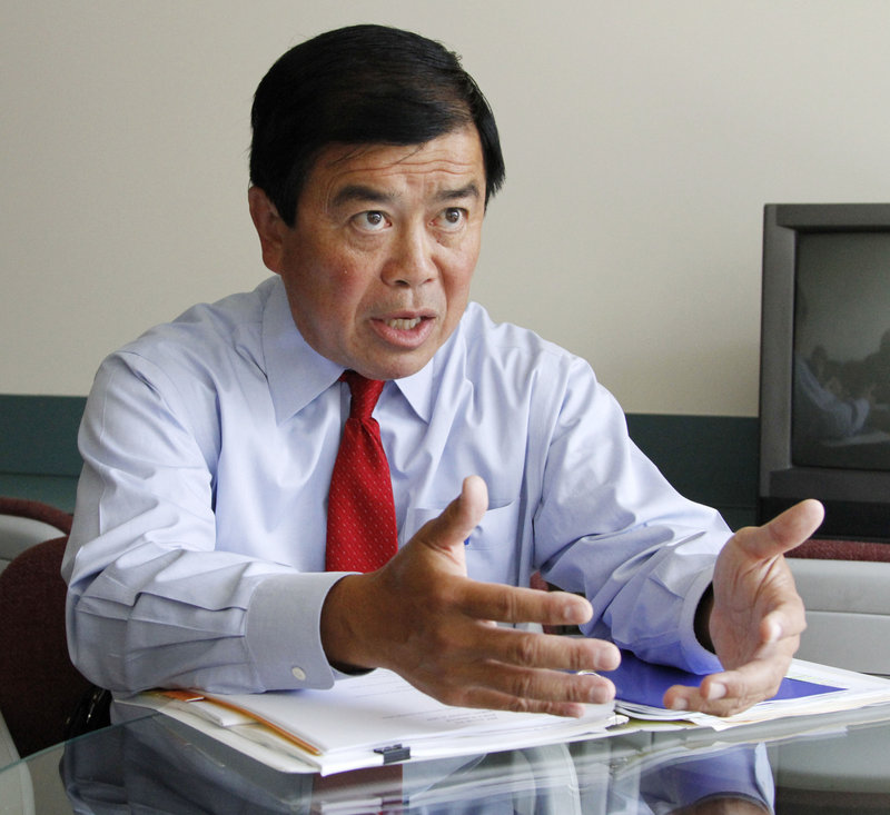 Rep. David Wu is accused of sexual misconduct with a teenage girl in 2010.
