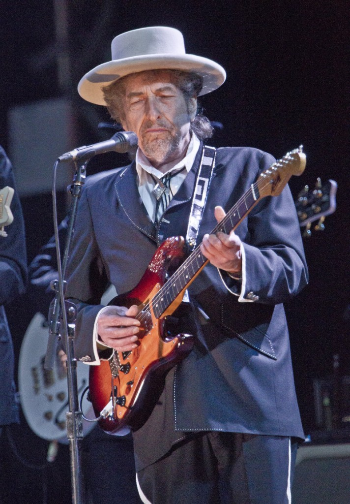 Bob Dylan will play in Bangor on Aug. 20 and in Boston the following day.
