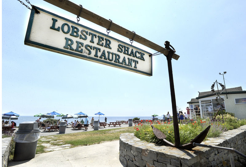 The Lobster Shack at Two Lights in Cape Elizabeth wins the most votes from readers for the best lobster roll and for best outdoor dining.
