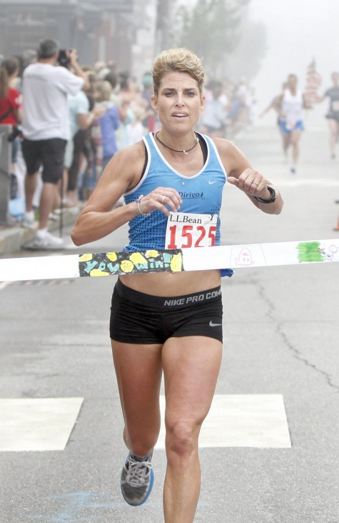 Sheri Piers was the top Maine female in the 2009 edition of the Beach to Beacon and won July's L.L. Bean 10K.