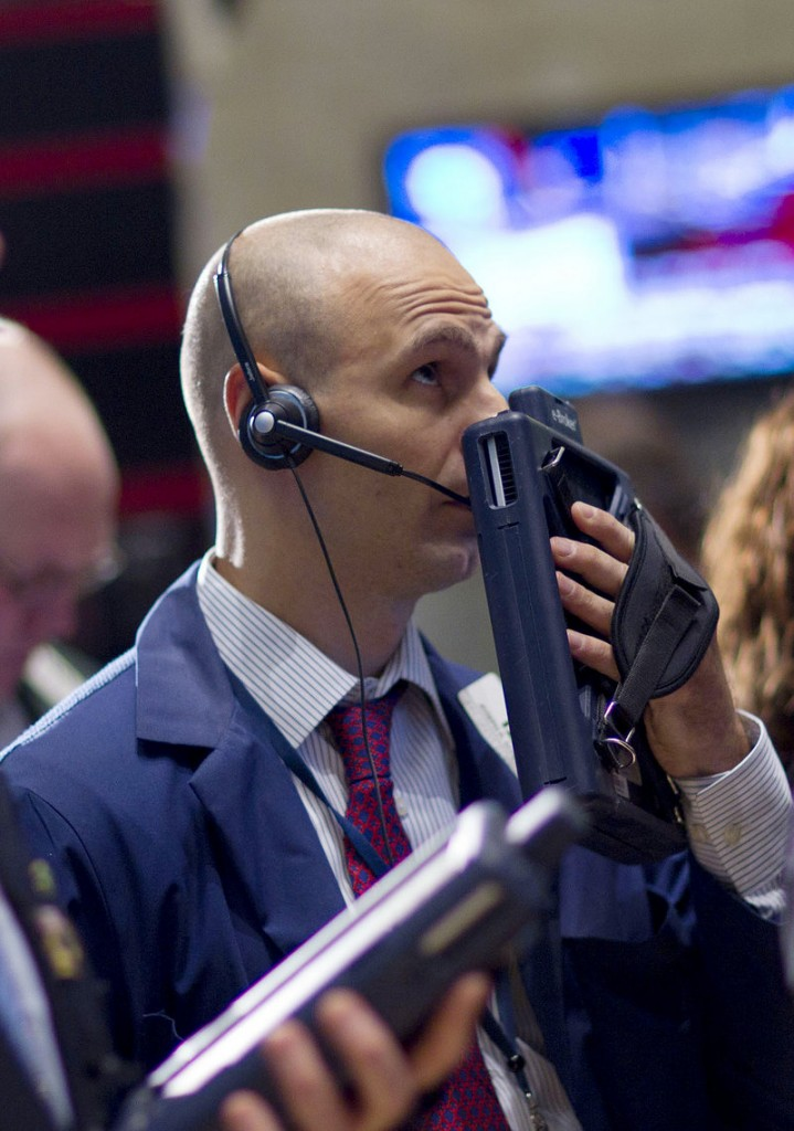 A trader works on the floor of the New York Stock Exchange on Wednesday in New York. With no clear sign of what will invigorate growth, there is mounting apprehension on Wall Street.
