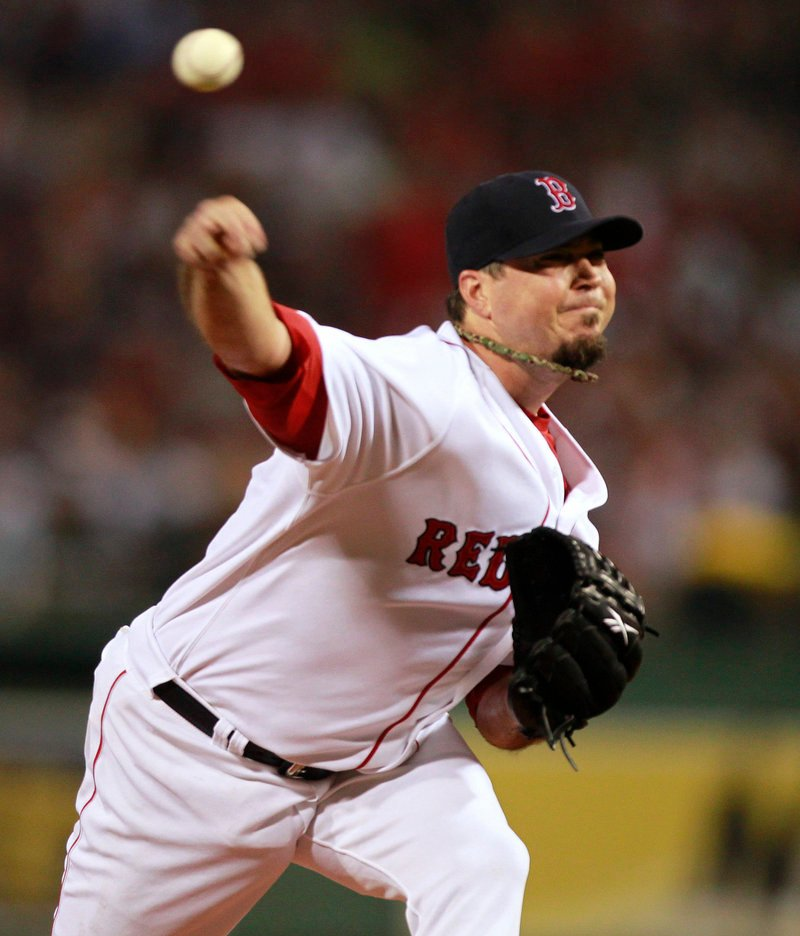 Josh Beckett is looking less like the up-and-down pitcher he was in 2010 and more like the World Series winner he was in 2007.