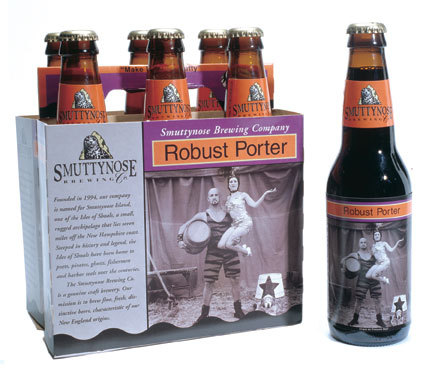 Smuttynose's Robust Porter is a full-bodied beer with quite a bit of chocolate malt.
