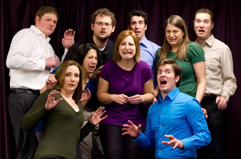 The Family Show: After Dark performs Sunday night at the Portland Improv Festival. This year's event features three performances each night, and even includes a throwdown between two teams.
