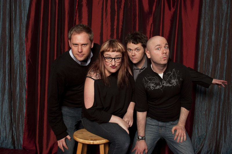 Running with Scissors performs Saturday night in the Laughletics competition against Bam!Cakes.