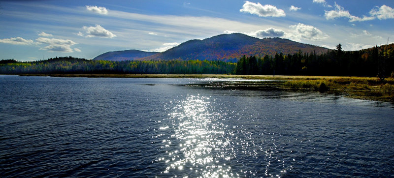Umbagog Lake is part of a paddling trip that starts in Wilsons Mills, Maine, and ends in Errol, N.H.