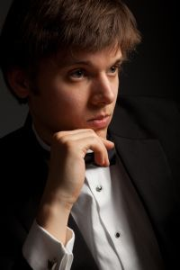 Pianist Artem Belogurov performs on Saturday in Fryeburg.