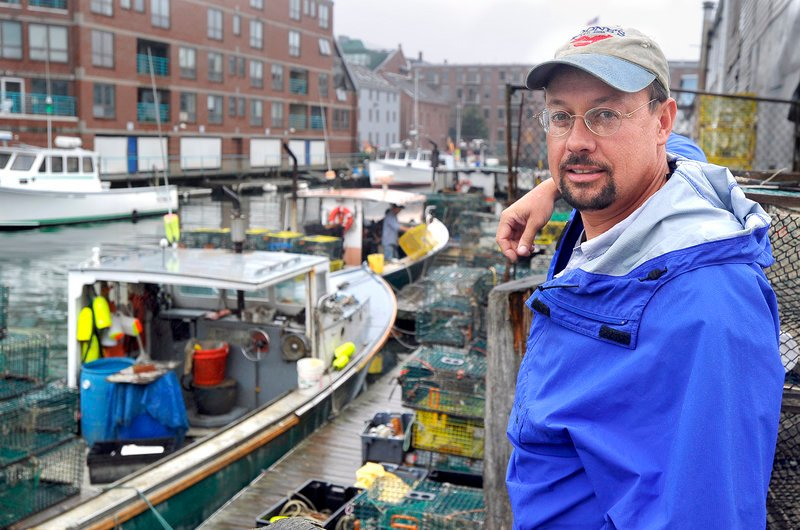 Steve Train, a lobsterman out of Long Island, wants the state to give fishing licenses to anyone who graduates from the apprenticeship program. That person would have to buy trap tags – permits for individual traps – from a licensed lobsterman.