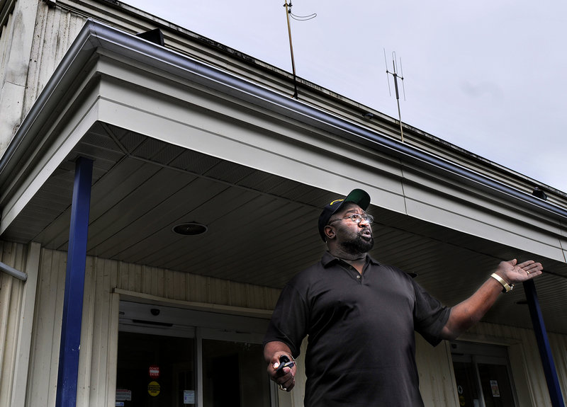 Navy veteran Gregory Dunn, a native of Louisiana, says the Brunswick-Topsham commissary is a major reason he and his wife were able to retire in Brunswick. He worries how people on fixed incomes will cope once it's closed.