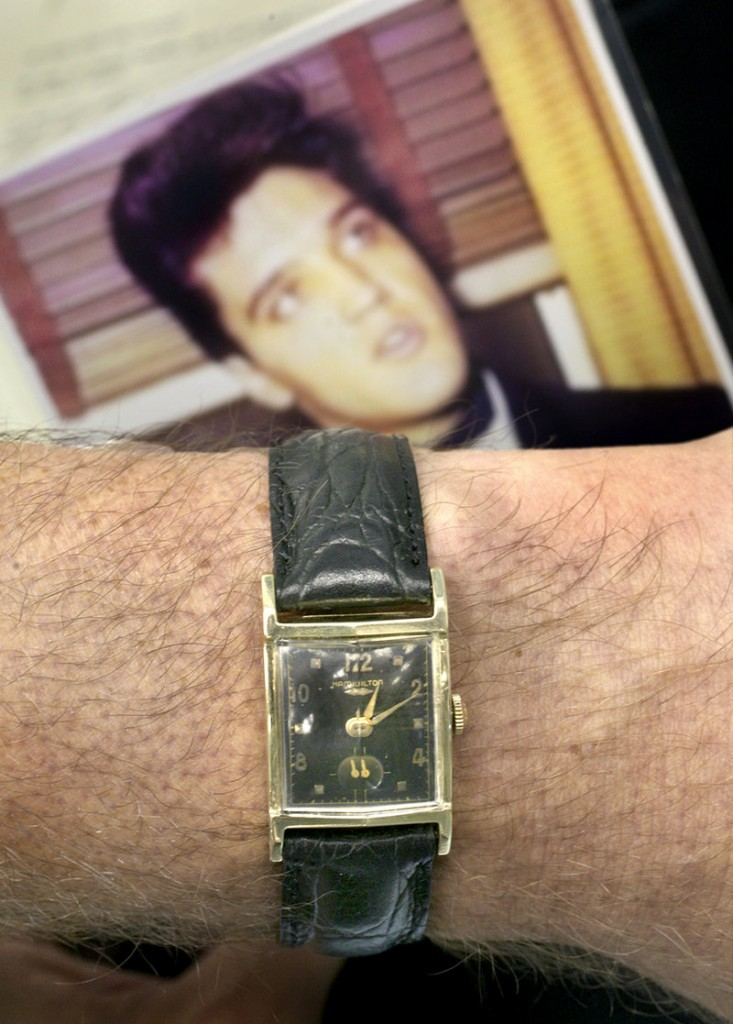 This watch once owned by Elvis Presley is on sale at a jewelry store in Windham for $24,000.