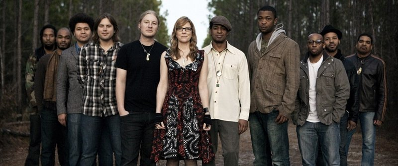 The Tedeschi Trucks Band performs on Friday at the Ocean Gateway Terminal in Portland.