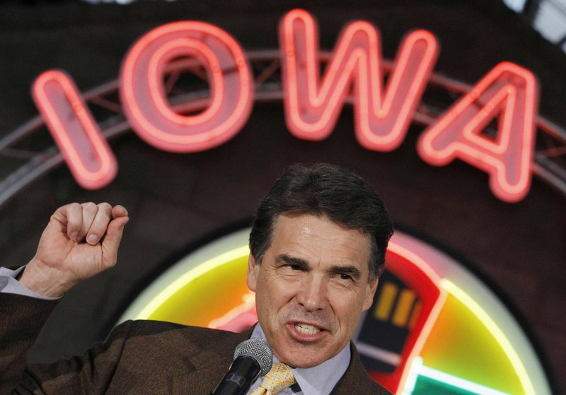 Republican presidential candidate Rick Perry is doing a pretty good job playing the role of stereotypical Texan.