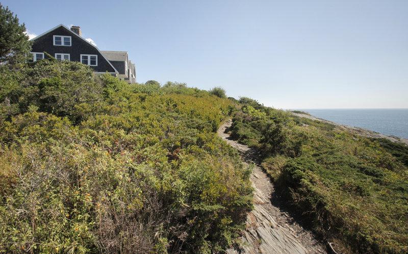 Overlooking the Atlantic Ocean, The 113-year-old home called Clipperways on Prouts Neck in Scarborough is going to be demolished by its new owner this fall and replaced with a new home consistent with the architecture of the original.