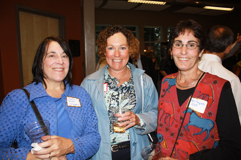 Marcia Bowen of Normandeau, Cindy Talbot of CJ Talbot Services, and Beth Nagusky of Environment Northeast.