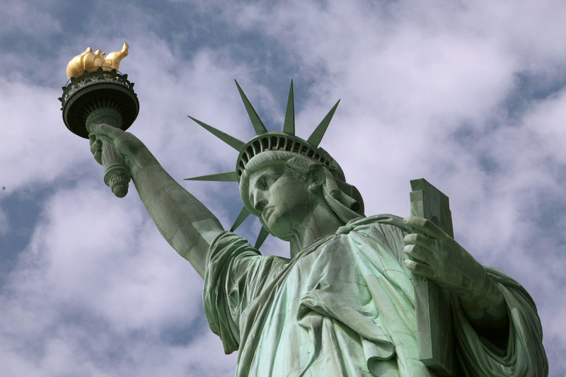 The Statue of Liberty will be unobstructed during repairs.