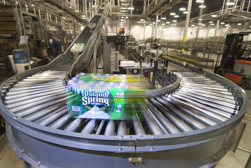 A 2010 state report focused on the possible effects of international trade pacts on Maine's efforts to regulate groundwater withdrawals by bottled water companies, like Poland Spring.