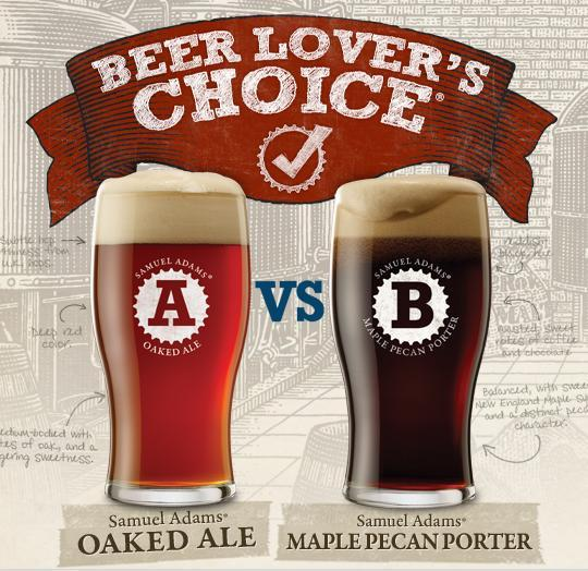 Residents of southern Maine will have just one more local opportunity to participate in Boston Beer Co.'s annual Beer Lover's Choice competition.