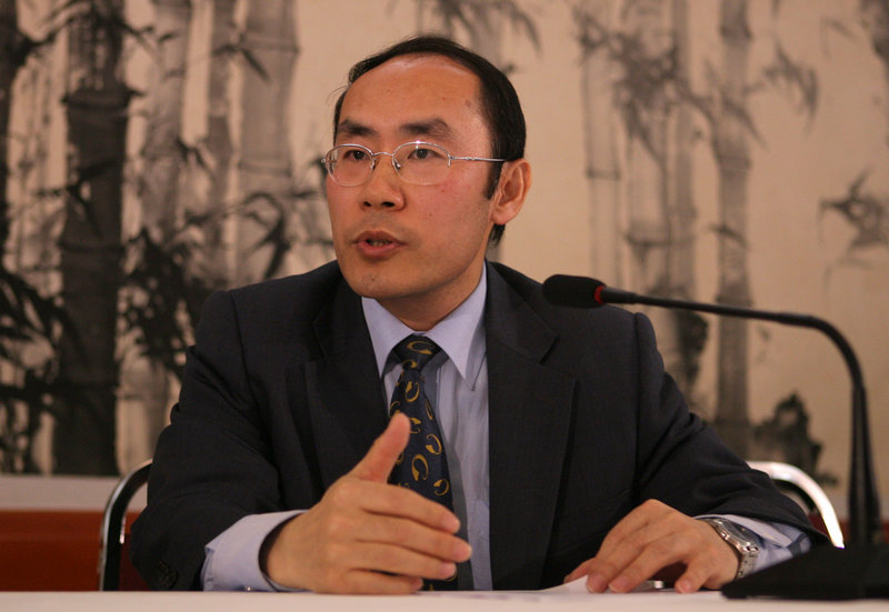 Wang Baodong, Chinese Embassy spokesman in Washington, defends China's right to take action against its adversaries, but would not comment on an alleged cyber attack on Falun Gong.