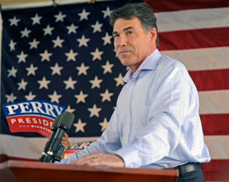 Texas Gov. Rick Perry says the federal government has not done enough to secure the U.S. border with Mexico.