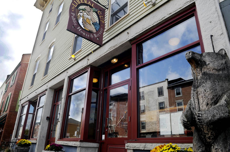 WATER STREET: A marijuana dispensary is planning to open above the Liberal Cup in Hallowell.