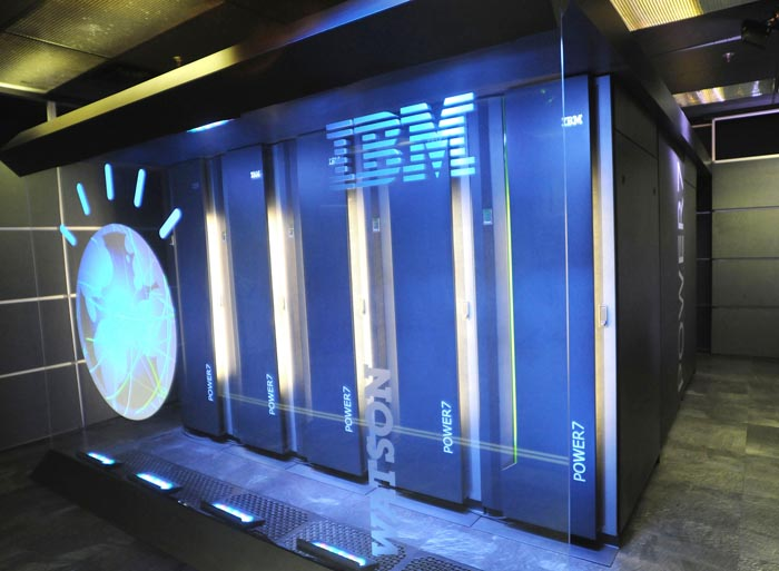 IBM's computer system known as Watson at IBM's T.J. Watson research center in Yorktown Heights, N.Y.