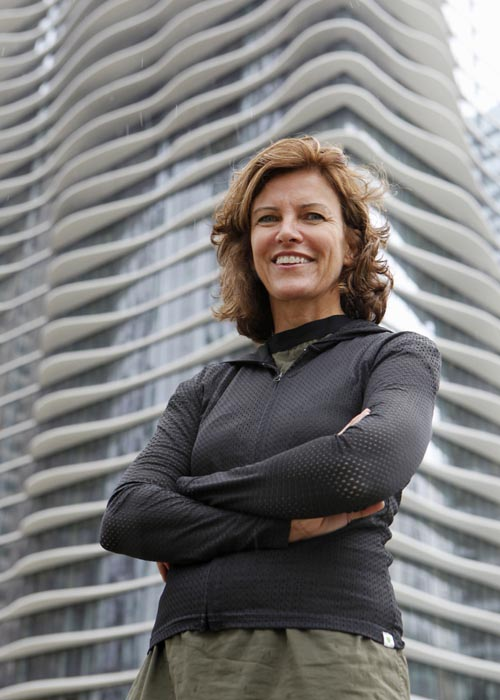 Jeanne Gang, 47, is an architect focusing on the geographic, social and environmental factors of residential, educational and commercial buildings.