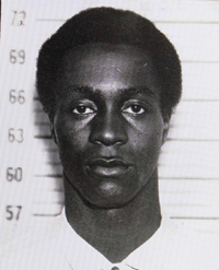 This photo taken in 1963 shows George Wright while in custody for the 1962 murder of a gas station owner in Wall, N.J.