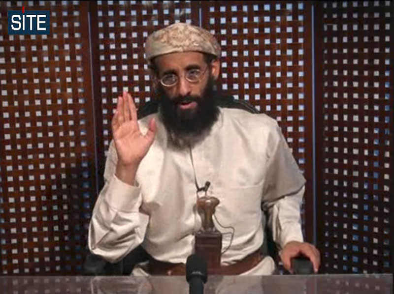 In this Nov. 8, 2010 file image taken from video and released by SITE Intelligence Group on Monday, Anwar al-Awlaki speaks in a video message posted on radical websites. A senior U.S. counterterrorism official says U.S. intelligence indicates that U.S.-born al-Qaida cleric Anwar al-Awlaki has been killed in Yemen.