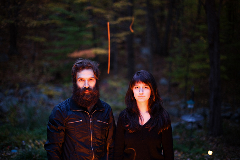 Brown Bird is the Rhode Island duo of David Lamb and MorganEve Swain.