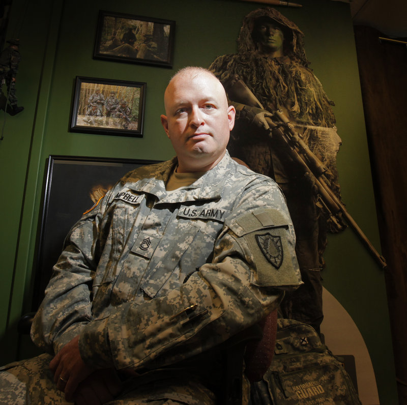 Sgt. 1st Class Rick Campbell, a recruiter for the U.S. Marines in 2001, says he witnessed a spike as more people approached him to sign up for the armed services in the wake of September 11 terrorist attacks.