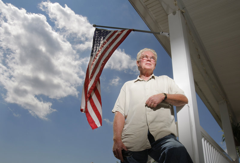 Now retired, Mike Tuohey of Scarborough is the US Airways ticket agent at Portland International Jetport who checked in Mohamed Atta and Abdulaziz before their flight to Boston on the morning of September 11, 2001.