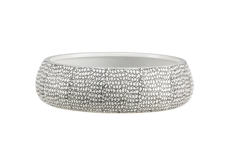 The tread stoneware bowl by CB2 is an example of designer using city streets as both literal and figurative inspiration.