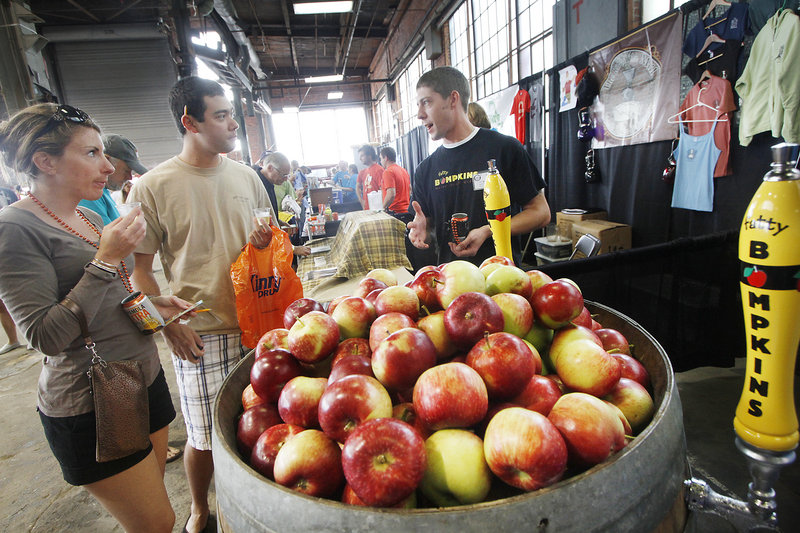 Brandon Geer of Fatty Bampkins talks to Susie Helm and Andrew Salcetti of Boston about the draft cider that is made in South Casco.