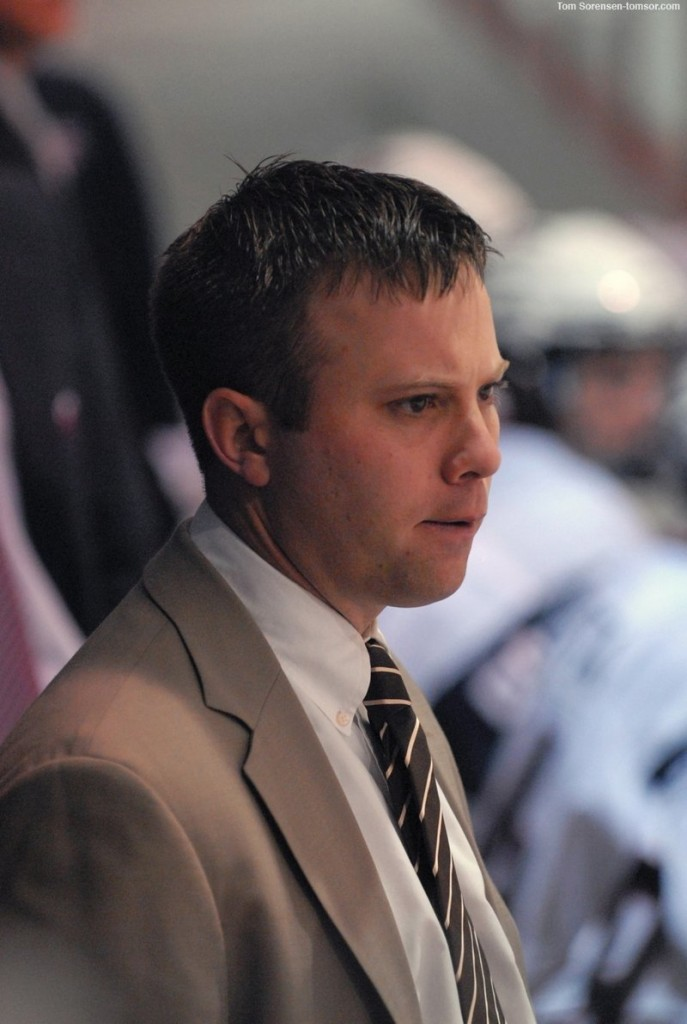 Matt Greason, a former NYA standout and Travis Roy Award winner, is in his first season as an assistant coach with the United States National Development Program's U-18 hockey team.