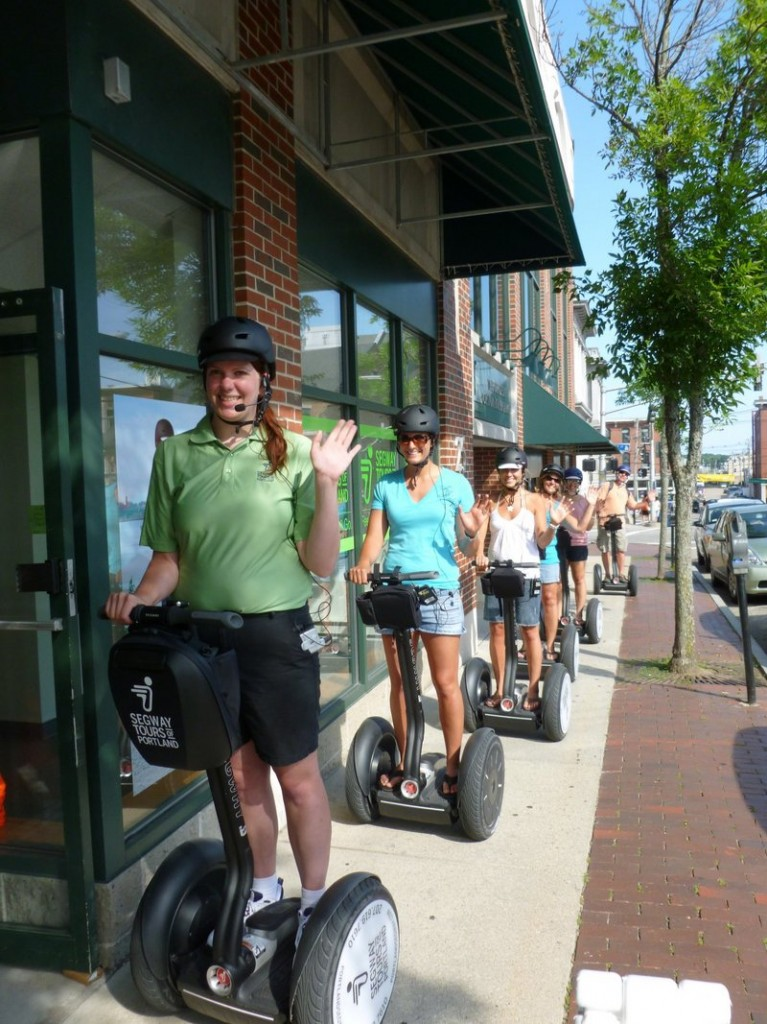 A Segway tour of Portland may help the summer-minded segue into autumn.
