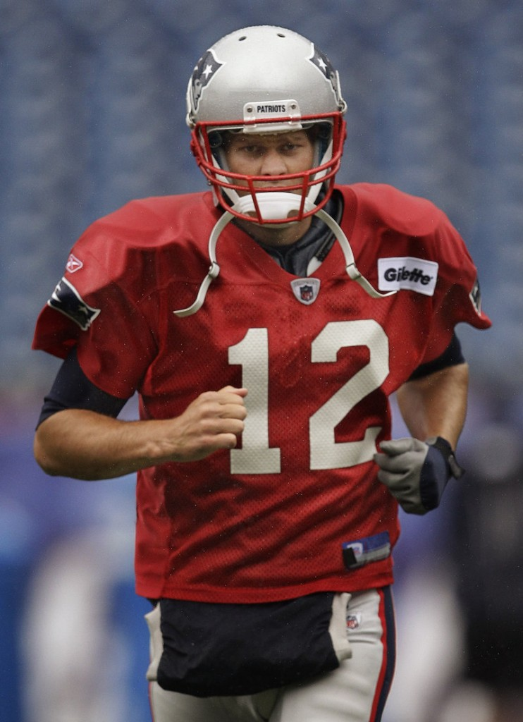 Tom Brady and the New England Patriots not only are excited to be playing a game that counts, but against a division rival on the road.